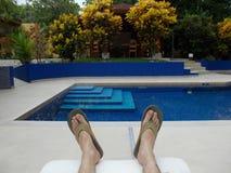 Hotel de lujo Costa Rica fotografía de archivo libre de regalías