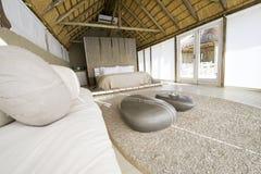 Hotel de lujo del safari en Namibia imagenes de archivo