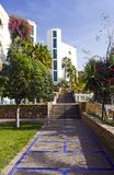 Hotel de lujo en Marruecos fotos de archivo libres de regalías