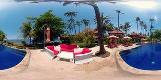Hotel de lujo por el mar vr360 metrajes