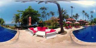 Hotel de lujo por el mar vr360 almacen de video