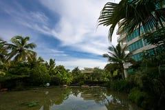 Hotel de luxo Fotografia de Stock