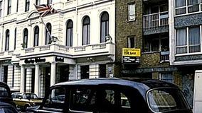 Hotel de luxo arquivístico em Londres vídeos de arquivo