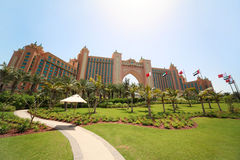 Hotel de luxo Atlantis - as melhores férias Imagem de Stock Royalty Free