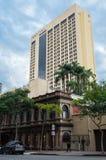 Hotel de luxo central de Sofitel Brisbane em Brisbane do centro Fotos de Stock Royalty Free