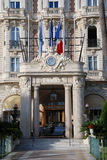 Hotel de luxo de France Cannes Fotos de Stock