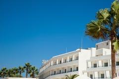 Hotel de luxo em Chipre Fotografia de Stock Royalty Free
