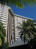 Hotel de luxo no console de Hamilton, Austr Fotografia de Stock Royalty Free