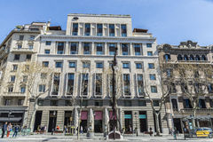 Hotel de Mandarin Oriental, Barcelona foto de stock royalty free