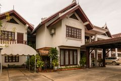 Hotel de Manoluck em Luang Prabang, Laos Foto de Stock