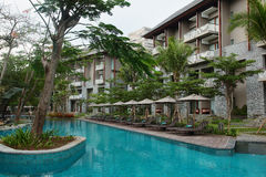 Hotel de Marriott, Bali Imagenes de archivo