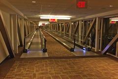 Hotel de Mgm Grand da caminhada movente, Las Vegas Imagens de Stock