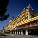 Hotel de Montreux Palace Foto de Stock Royalty Free