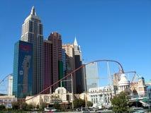 Hotel de New York New York, Las Vegas Foto de Stock