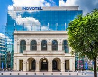 Hotel de Novotel foto de stock