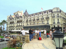 Hotel de París de Monte Carlo fotos de archivo