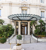 Hotel de Paris in Monaco royalty free stock photo
