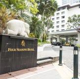 Hotel de quatro estações em Banguecoque Fotografia de Stock