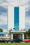 Hotel de quatro estrelas no Mar Negro Fotografia de Stock Royalty Free