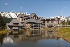 Hotel de recurso de Alyeska fotografia de stock royalty free