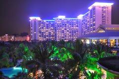 Hotel de recurso tropical imagem de stock royalty free