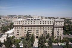 Hotel de rey David Fotos de archivo libres de regalías