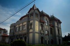 Hotel de Ribadesella, Asturie fotografia stock