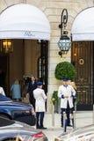 Hotel de Ritz Paris en el lugar Vendome francia Imagenes de archivo
