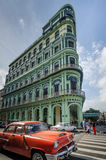 Hotel de Saratoga en La Habana, Cuba Imagen de archivo libre de regalías