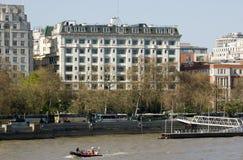 Hotel de Savoy, Londres fotografia de stock