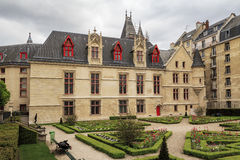 Hotel de Sens (Forney Library) Stock Photography