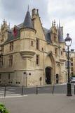 Hotel de Sens (Forney Library) Stock Photos