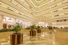 Hotel de Sheraton em Doha, Qatar imagem de stock