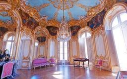Hotel de Soubise, archives nationales, Paris, France. A viewn in PARIS, FRANCE, SEPTEMBER 07, 2016 : interiors and details of hotel de Soubise, archives stock image