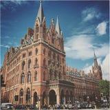 Hotel de St Pancras Foto de archivo
