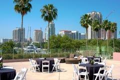 Hotel de St Petersburg Florida Fotos de Stock Royalty Free