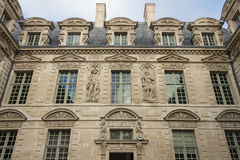 The Hotel de Sully, Paris, France. Stock Image