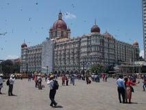 Hotel de Taj em Mumbai fotografia de stock
