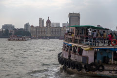 Hotel de Taj Mahal em Mumbai Imagem de Stock