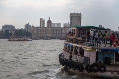 Hotel de Taj Mahal en Bombay Imagen de archivo