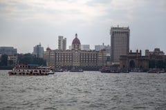 Hotel de Taj Mahal en Bombay Fotos de archivo libres de regalías