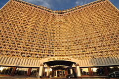 Hotel de Uzbekistan en Tashkent Imagen de archivo libre de regalías