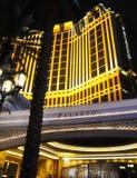 Hotel de Vegas Palazzo Fotografía de archivo