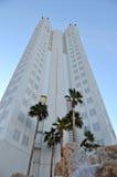 Hotel de Vegas que alcanza hacia el cielo Imágenes de archivo libres de regalías