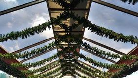 hotel de vidro do telhado Foto de Stock