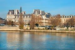 Hotel de Ville, Παρίσι, Γαλλία. Στοκ εικόνα με δικαίωμα ελεύθερης χρήσης