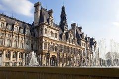 Hotel de Ville. στοκ εικόνες