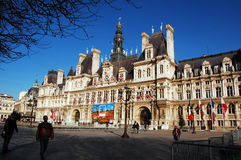 Hotel de Ville Royalty Free Stock Photos