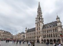 Hotel de Ville Brussels Belgium Stock Image