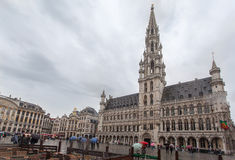 Hotel de Ville Brussels Belgium Stock Images